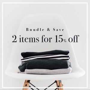 Bundle it and save!